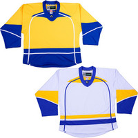 NHL Uncrested Replica Jersey DJ300 - Nashville Predators Gold SR