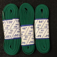Figure Skate Laces - Green