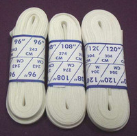 Figure Skate Laces - White