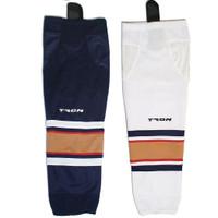 Tron Sk300 Dry Fit Hockey Socks - Edmonton Oilers
