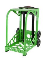 Zuca Sport Frame - Green with Flashing Wheels