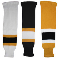 Tron SK200 Knit Hockey Socks - Boston Bruins