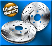 2013-2015 Subaru BRZ/Scion FRS Crossdrilled and Slotted Brake Rotors