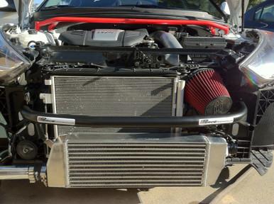 2012-2017 Hyundai Veloster Turbo Tubular Crashbar with IC Relocation