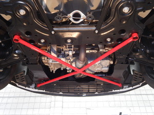 2012-2016 Chevy Sonic RS PRD Front Lower X-Brace
