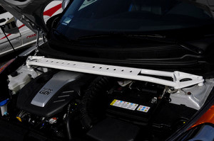 2012-2017 Hyundai Veloster and Veloster Turbo Chromoly Strut Brace