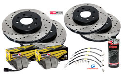 2013-2017 Hyundai Veloster Turbo Piercemotorsports Race Brake Package
