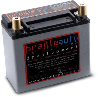 Braille B2015 15lb Racing Battery or Daily Driven Battery
