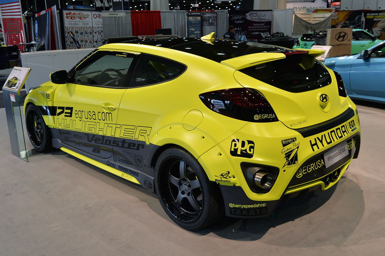 2012 2018 hyundai veloster egr 8 piece wide body kit in. Black Bedroom Furniture Sets. Home Design Ideas