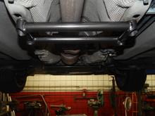 Piercemotorsports Volvo C30 Midship Brace