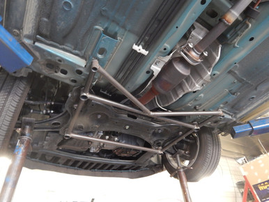 2013-16 Nissan Versa Piercemotorsports 6 Point Lower Tiebar Brace