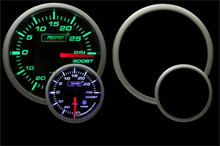 PROSPORT Premium Boost Gauge 52mm Green