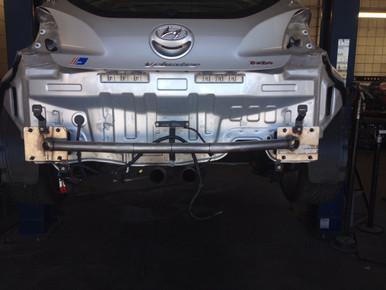2012-2017 Hyundai Veloster Rear Tubular Crashbar