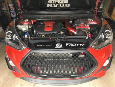 2013-2018 Veloster Turbo M&S Mesh Grill