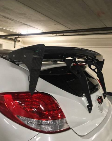 2012-2017 SCGW RSW Style FRP GT Wing for Veloster or Veloster Turbo