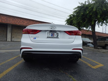 Piercemotorsport 2017 Hyundai Elantra Sport Axle Back Exhaust