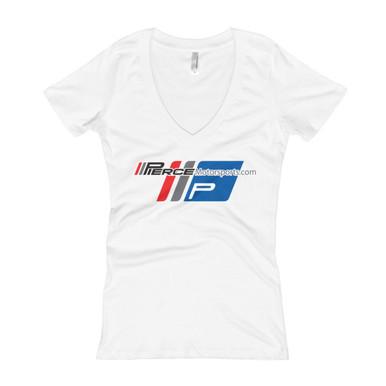 Piercemotorsports Team Women's V-Neck T-shirt