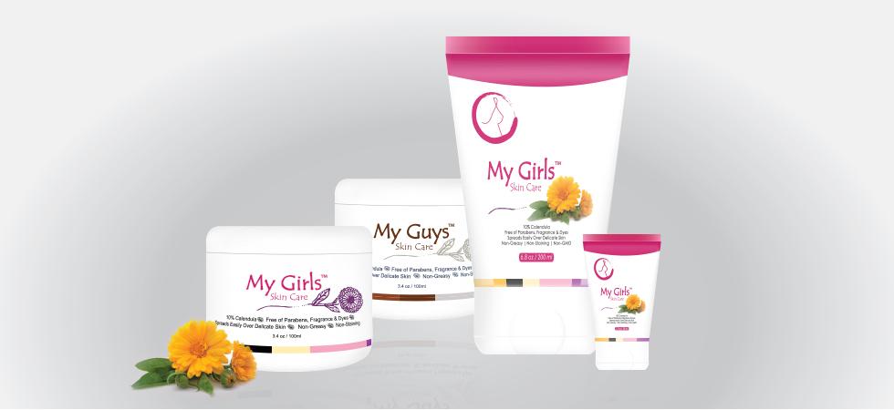 My Girls Skin Care Calendula for Radiation Burn Skin Care