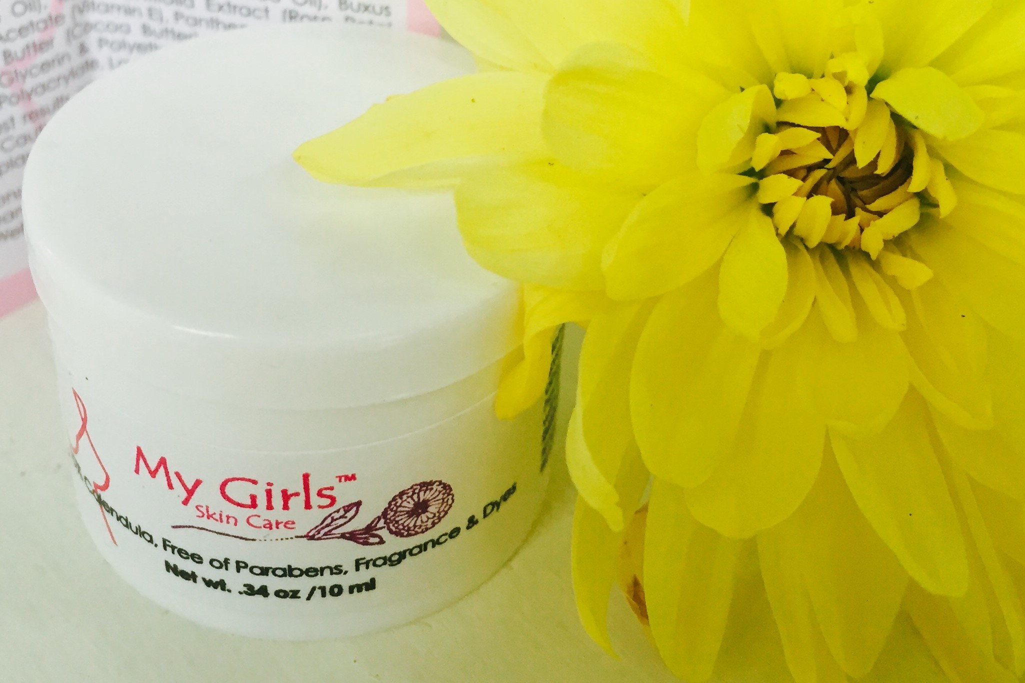 My Girls Skin Care cream samples - FREE for radiation oncology nurses