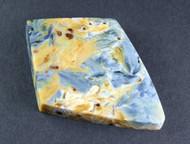 Amazing Chatoyant Blue Namibian Pietersite Cabochon  #14458