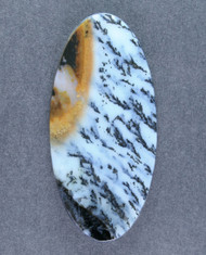 Exceptional Snake River Dendritic Agate Cabochon 14532
