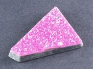 Sparkling Bright Pink Cobocalcite druzy Gemstone  #14553