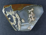 Amazing Priday Plume Agate Designer Cabochon  #14968