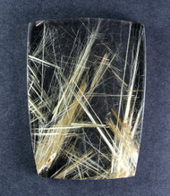 Fantastic! Rutilated Quartz Cabochon -w- Golden Needles #15045
