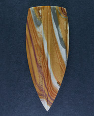 Gorgeous Candy Stripe Rhyolite Designer Cabochon   #15187