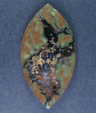 Amazing Priday Plume Agate Designer Cabochon  #15265