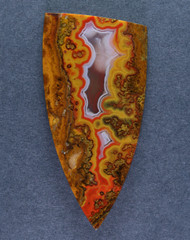 Gorgeous Moroccan Agate Plume Designer Cabochon   #15291