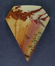 Dramatic Red Falcon Jasper Designer Cabochon   #15386