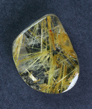 Fantastic! Rutilated Quartz Cabochon -w- Golden Needles #15422
