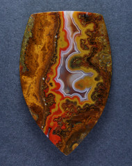 Gorgeous Moroccan Agate Plume Designer Cabochon   #15486