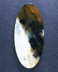 Gorgeous Old Stock Spanish Point Dendritic Agate Cabochon #15491