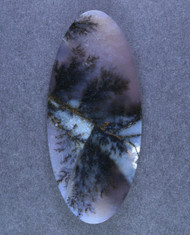 Gorgeous Amethyst Sage Dendritic Agate Cabochon  #15563