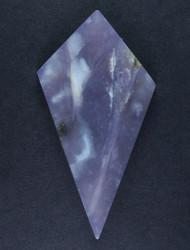 Gorgeous Purple Latigo Lavander Chalcedony Cabochon  #15600