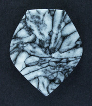 Dramatic Pinolith Jasper Designer Cabochon   #15671