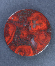 Outstanding Mary Ellen Jasper Cabochon - Great Color!!  #15681