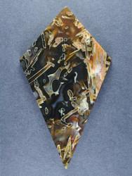 Gorgeous Turkish Stick Agate Collectors Cabochon  #15710