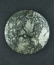 Gorgeous!! Elegantly Patterned Marcasite Agate Cabochon  #15735