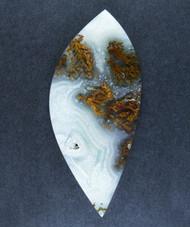 Rare !! Gorgeous Laguna Plume Agate Designer Cabochon  #15746