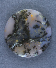 Gorgeous Purple Amethyst Sage Dendritic Agate Cabochon  #15766