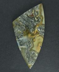 Gorgeous!! Nipomo Marcasite Agate Designer Cabochon #15798