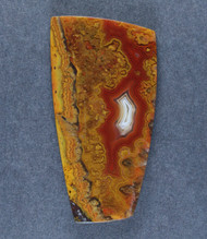Gorgeous Moroccan Agate Plume Designer Cabochon   #15863