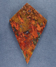 Dramatic designer cabochon of Cady Mtn Plume Agate   #15865