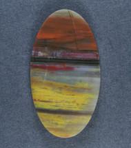 Colorful Arizona Rainbow Wood Designer Cabochon  #15872
