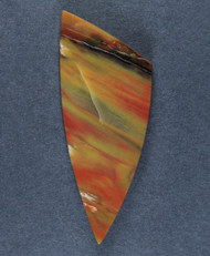 Colorful Arizona Rainbow Wood Designer Cabochon  #15905