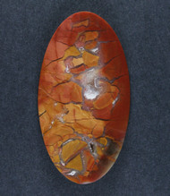 Gorgeous Chapenite Brecciated Jasper Cabochon- Druzy  #16003