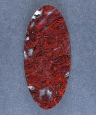 Rare Lavic Siding Red Moss Agate Designer Cabochon  #16004